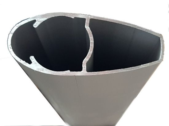 Image de T008330 - TUBE PROFILE 81.5x34.5mm - 6082 T6