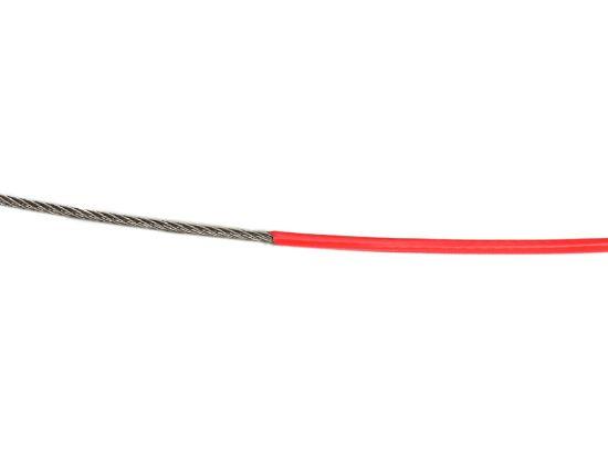 Image de C201810 - CABLE INOX  Ø1.8  GAINE PVC
