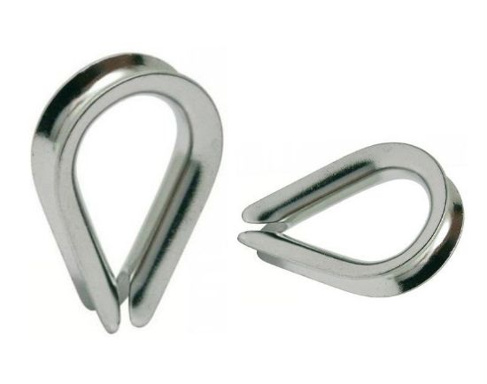 Picture of C304010 - THIMBLE 4.5 - STAINLESS STEEL
