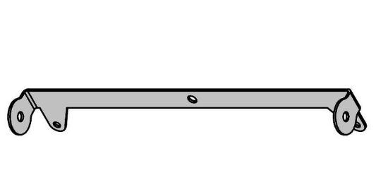 Image de E304075 - TOLE DOUBLE COMMANDE