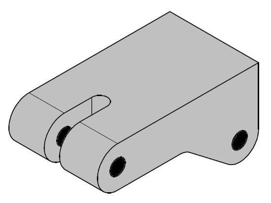 Picture of E302544 - Ø19 BRAKE PUMP CONTROL SUPPORT