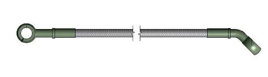 Picture of R035086 - BRAKE HOSE PUMP LIMIT LST