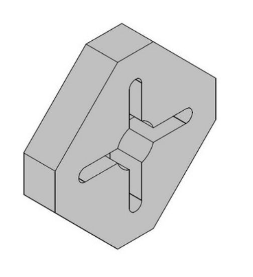 Picture of R142832 - SPLITTER PART 01