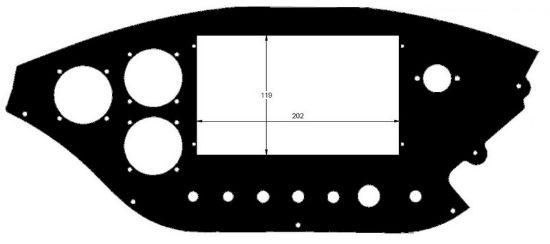 Image de R202019 - TABLEAU BORD 1/2 TAN 912 DISCO