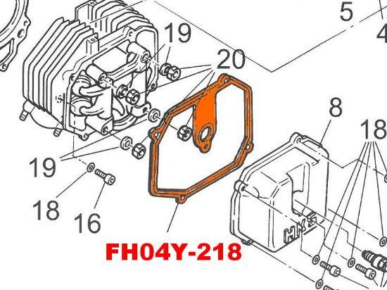 Image de FH04Y-218 - JOINT COUVERCLE TETE CYLINDRE