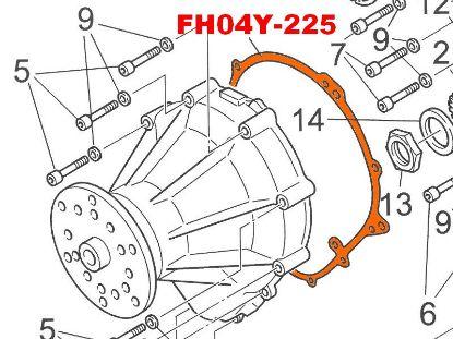 Image de FH04Y-225 - JOINT CARTER REDUCTEUR B 3.47