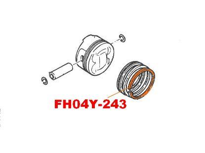 Image de FH04Y-243 - SEGMENT COUPE FEU