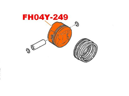 Picture of FH04Y-249 - PISTON B