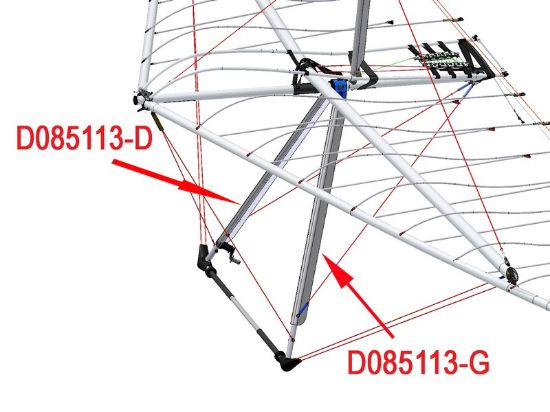Picture of D085113-D - A-FRAME FAIRING BIONIX RIGHT