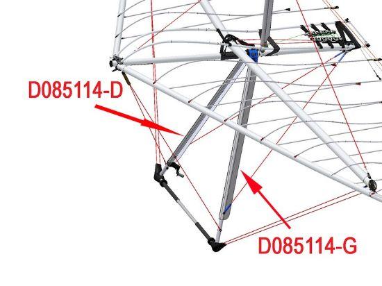 Image de D085114-G - PROFILE TRAP. BIONIX POIGNEE G