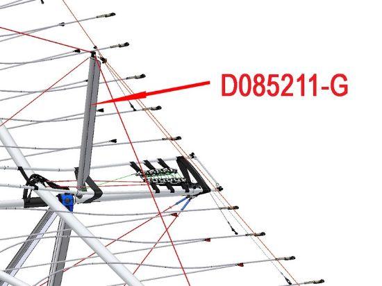 Picture of D085211-G - KINGPOST STREAMLINING BIONIX