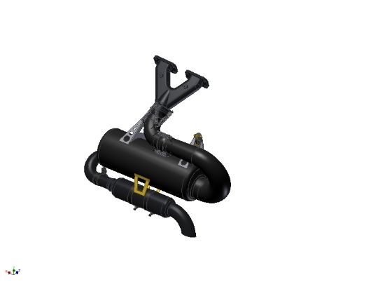 Picture of E144608 - EXHAUST GTE-TREK 582S COMPLET